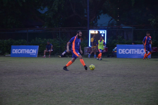Captain David in Action