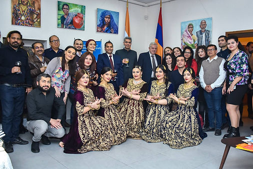 Indo-Armenian Friendship NGO, Indian Cultural Center Armenia, Indians in Armenia, Armenans in India,