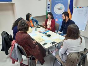 Mehndi Classes at the Indian Cultural Centre, Armenia