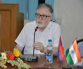 Ambassador Achal Kumar Malhotra. India-Armenia Relations, Indian Embassy in Armenia