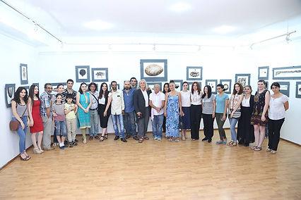IAF, India Armenia, Exhibiton, Naregatsi Art Center, Kantakishore Moharana, Indian Artist
