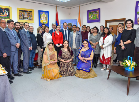 First Anniversary of Indian Cultural Center marked