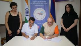 Signing of MOU between IAF & NPLE