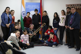 CIS International School Visits Indian Cultural Center