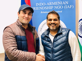 Vice-President of Yezidi National Union Visits Indian Cultural Center Armenia