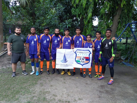 IAF FC befre the match