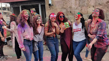 Holi and Palm Sunday at Indian Cultural Centre, Yerevan