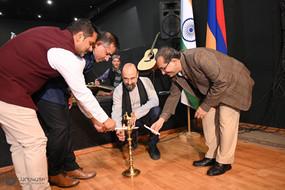 Indo-Armenian Cultural Evening at Naregatsi Art Institute