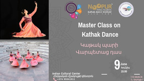 Kathak Workshop at the Indian Cultural Center