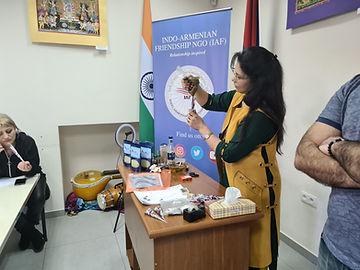 Mehndi Armenia, Indian Cultural Centre Armenia