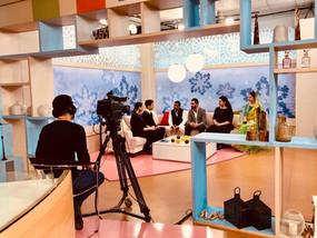 Team IAF at Armenia TV