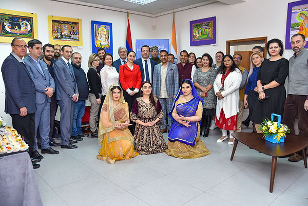 India Armenia, KD Dewal, Hovhannes Hovhannisyan, India Armenia Friendship Group