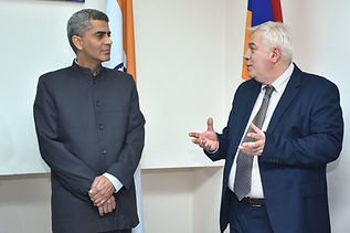 Yogeshwar Sangwan, Indian Embassy in Armenia, Indian Ambassador in Armenia, Indian Cultural Cener Armnia