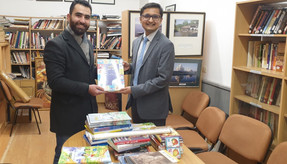 New Books received for Indian Cultural Centre's Library.