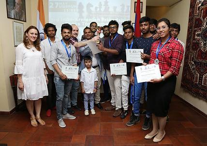 Silk Road Hotel, Yerevan, Indo-Armenian Friendship NGO, Indians in Armenian, YSMU, Indian Students in Armenia