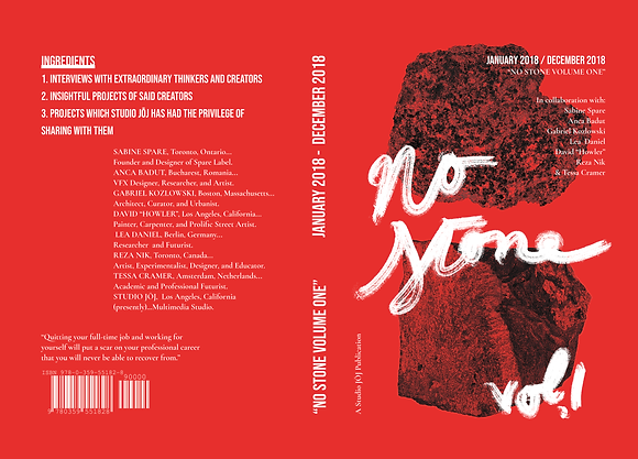 """No Stone Volume One"""