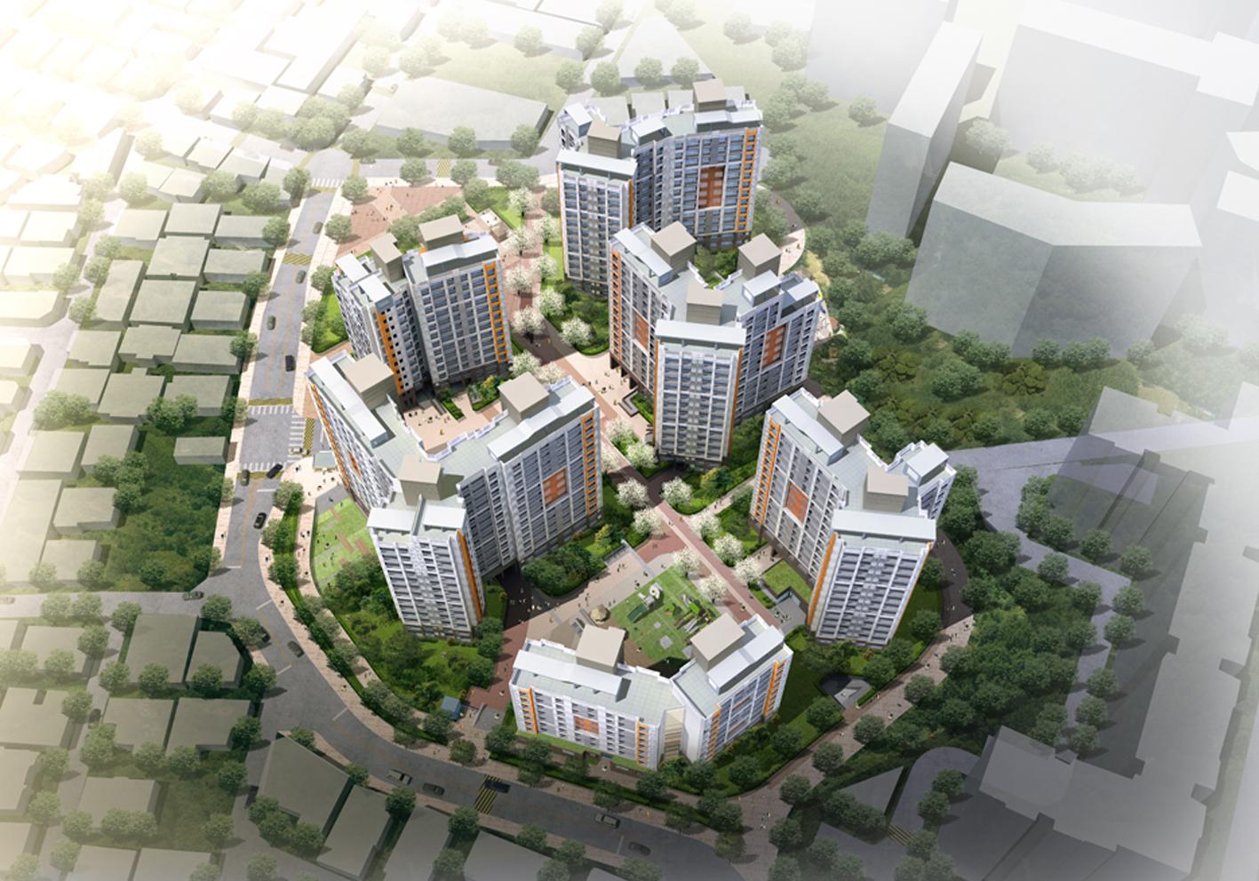 01_35.목제1주택 재건축정비사업 아파트 신축공사(2015)