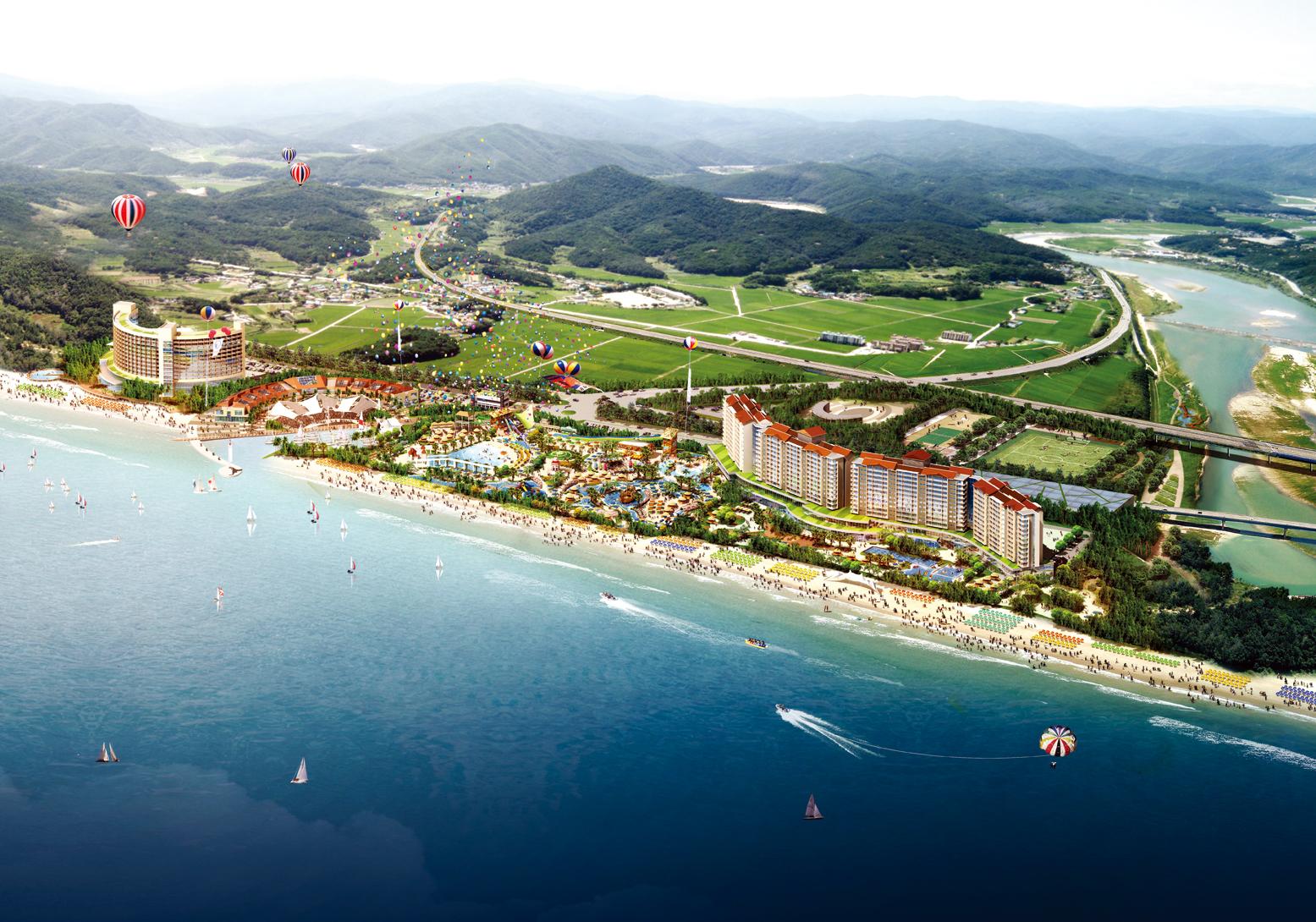 06_02.강릉 연곡 해수욕장 개발사업(2008)