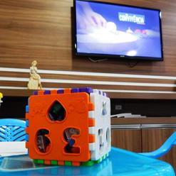 Área Kids e Sala TV