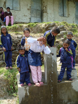 Fresh water at Nele Primary School