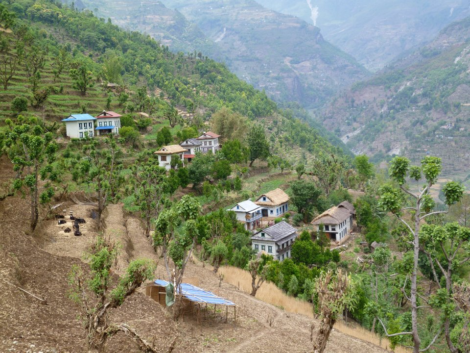 Village view, Lower Solu Khumbu