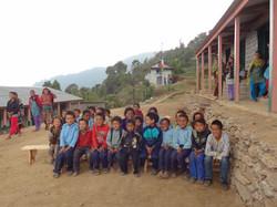Pupils of Jhareni Primary School
