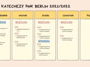 Plan Katechezy 2021/2022