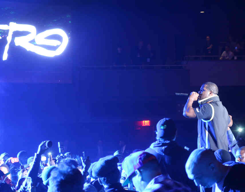 A$AP FERG Performing at the G-Shock 35th Anniversary.