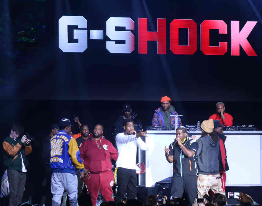 A$AP FERG AND A$AP ROCKY Performing at the G-Shock 35th Anniversary.