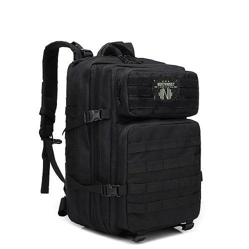 Northwest Tactical Backpack 45l rugzak - sport - school - werk ZWART