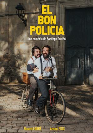 """Arriba """"El bon policia"""", una comèdia de Santiago Rusiñol."""