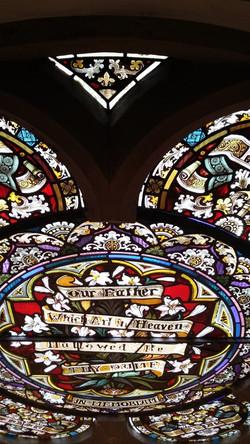 rose window revealed
