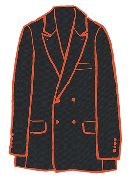 Factor's Double Breasted Jacket