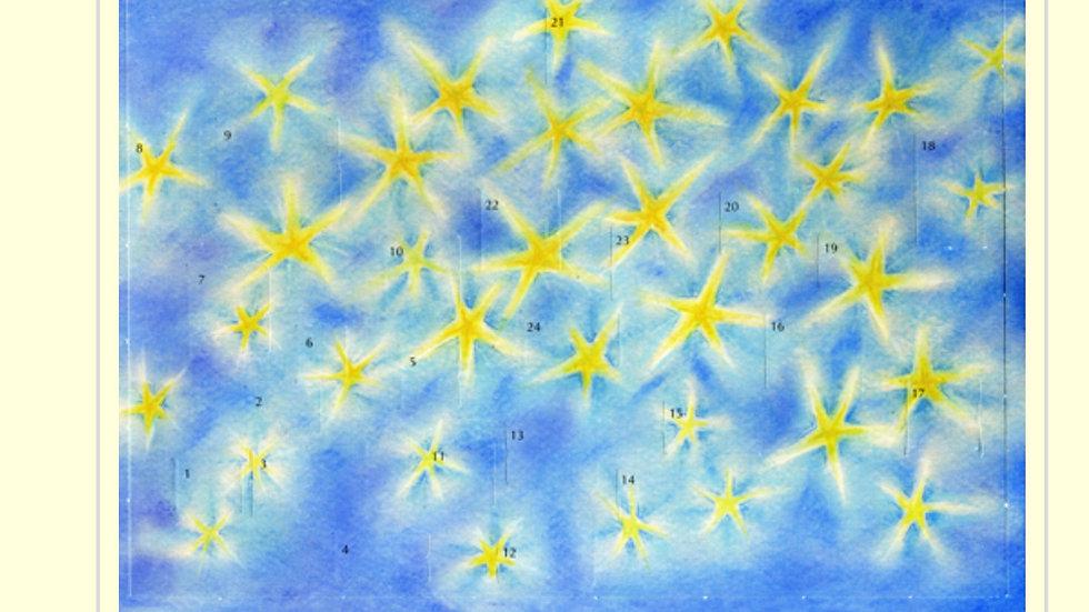 Advent Stars Calendar