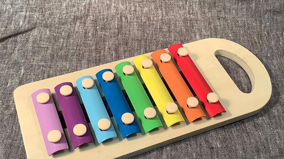 Rainbow xylophone