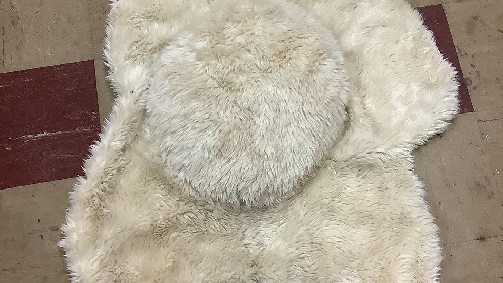 Polar Bear floor rug decor