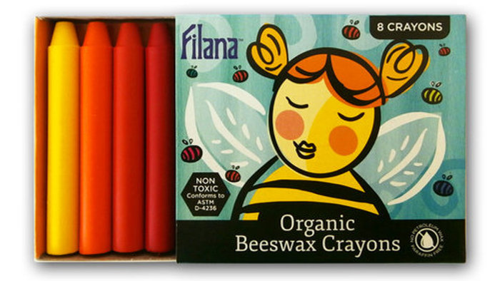 Filana Beeswax Stick 8pk Crayons
