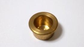 Birthday ring brass candle holder