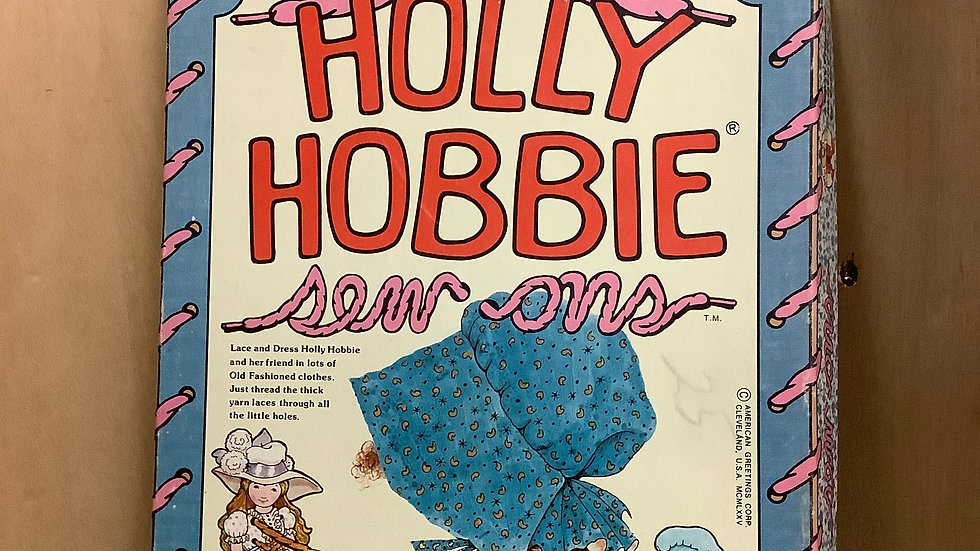 Vintage Holly Hobbie sew ons