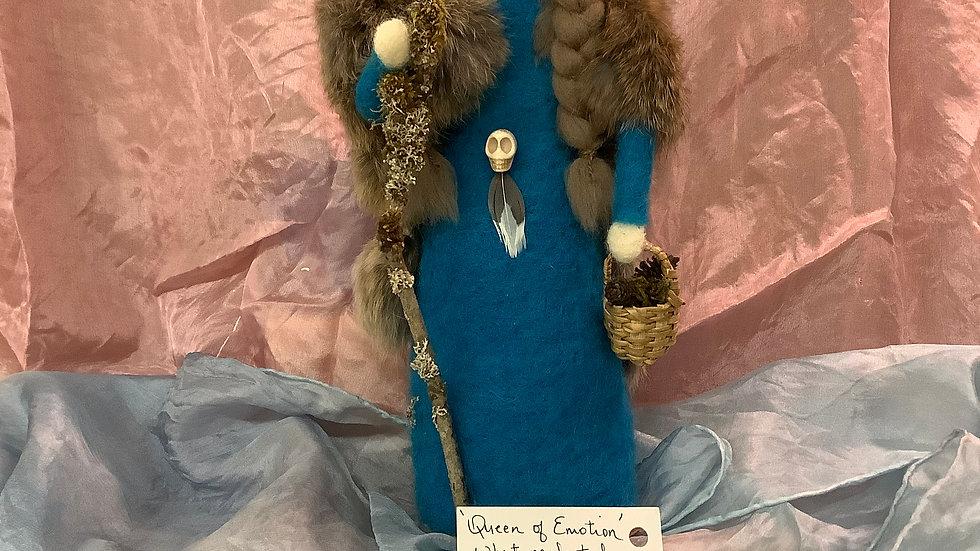 Handmade Felt Sacred Spirit Doll