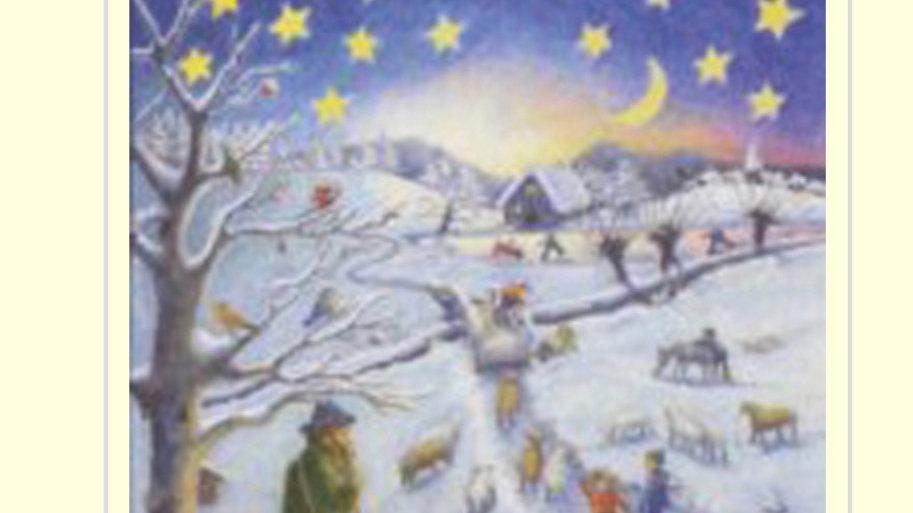 A Winter Scene Advent Calendar