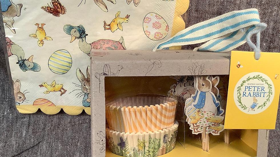 Peter Rabbit cupcake set