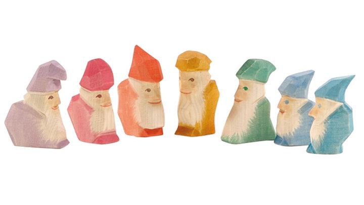 Ostheimer Crystal Gnome set of 7