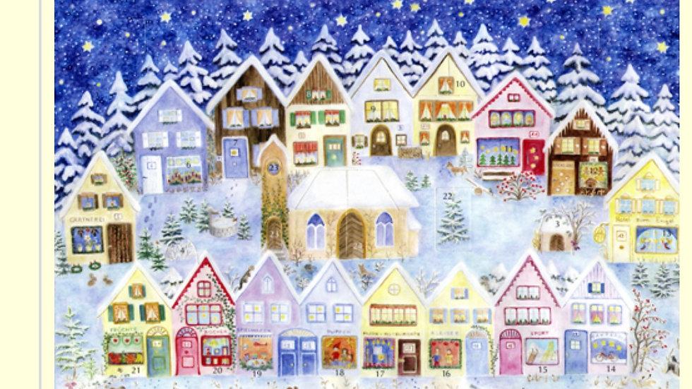 Christmas in the Elves' Village Calendar