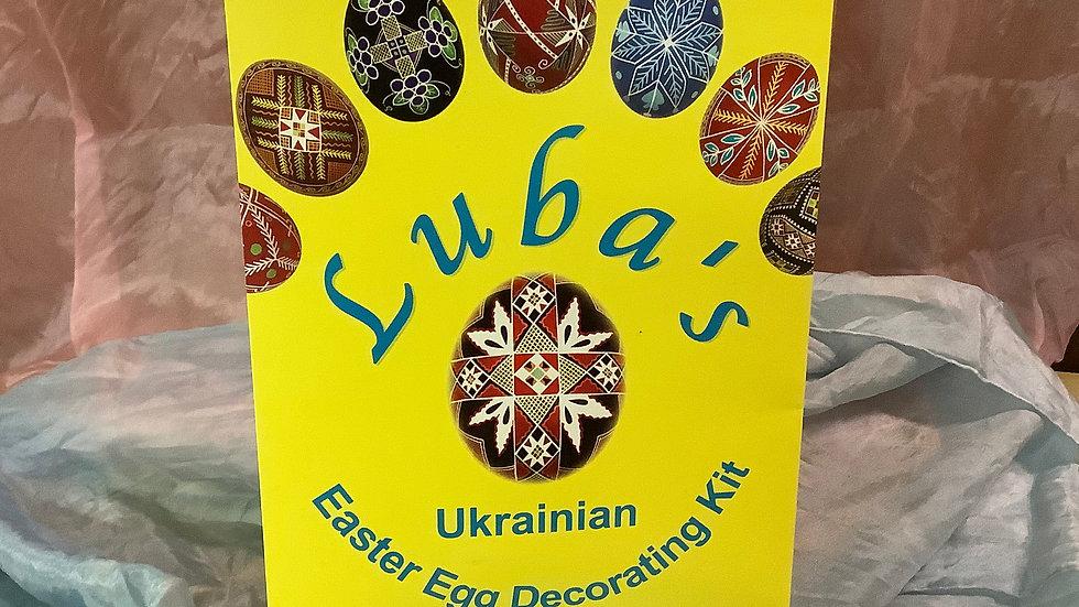 Ukrainian Egg Dyeing Kit