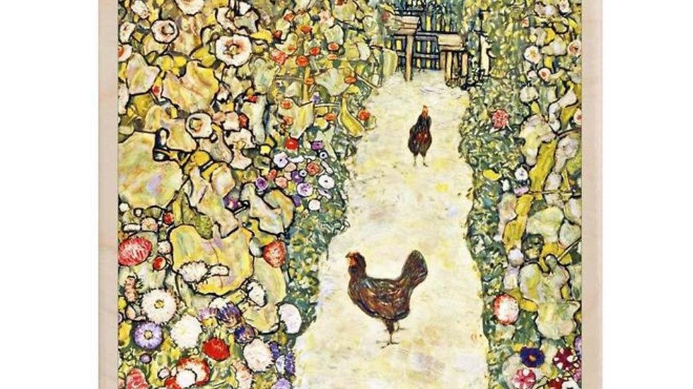 Wooden Postcard (Klimt)