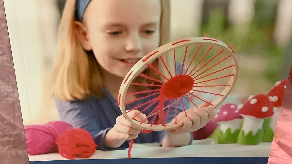 GU Weaving with Children