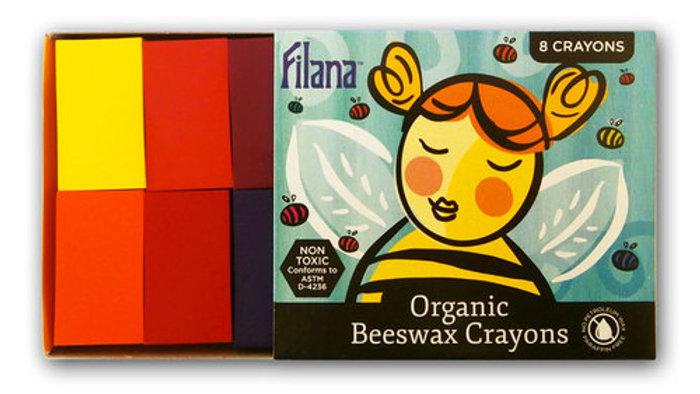 Filana Beeswax 8pk Block crayons