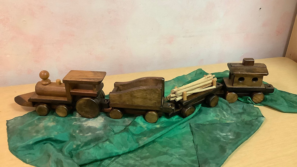 Wooden Train set (4pc)