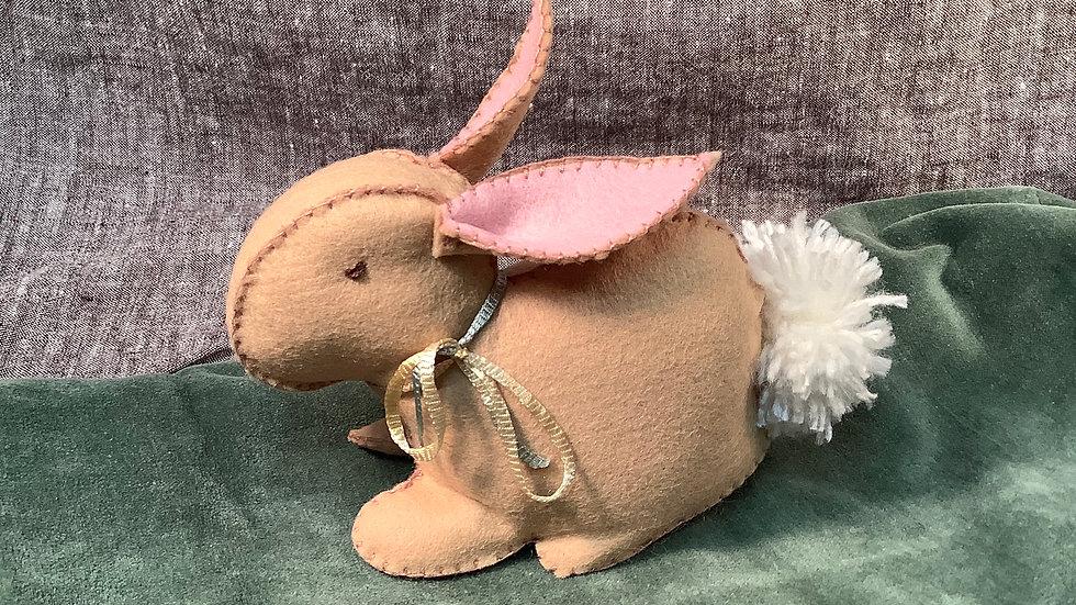 Handmade Felt Bunny